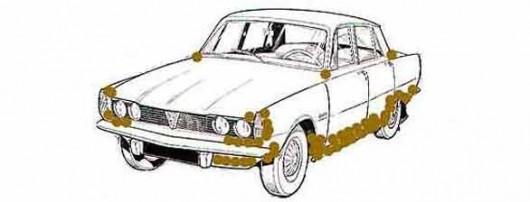 Убрать ржавчину с кузова автомобиля своими руками