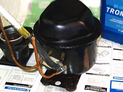 72 - Устройство компрессора для покраски
