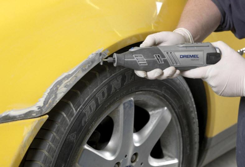Убрать ржавчину на крыле автомобиля советы и рекомендации