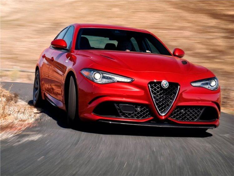 седана Alfa Romeo Giulia