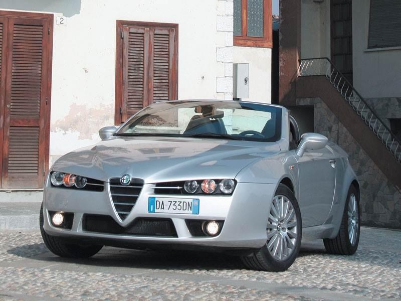 Обновленный Alfa Romeo Spider