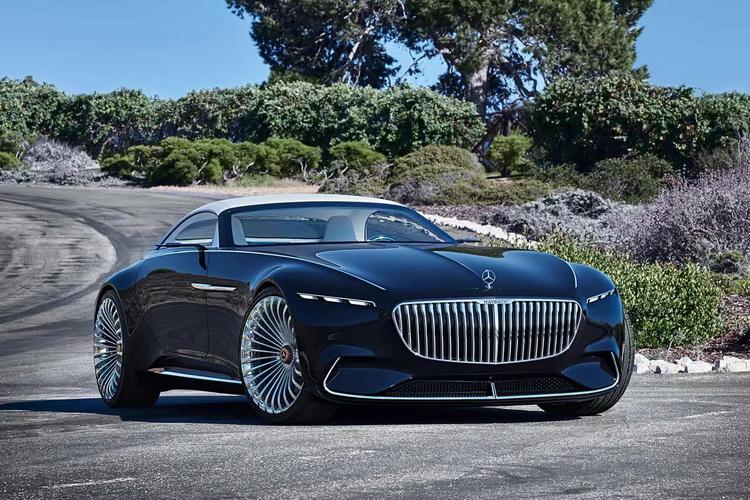 Mercedes Maybach 6 Cabriolet Concept