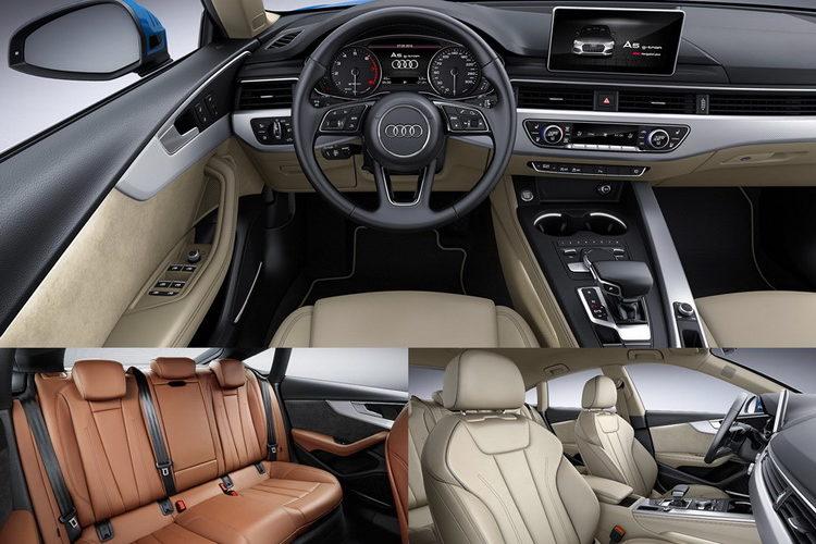 Интерьер Audi A5 Sportback G-Tron