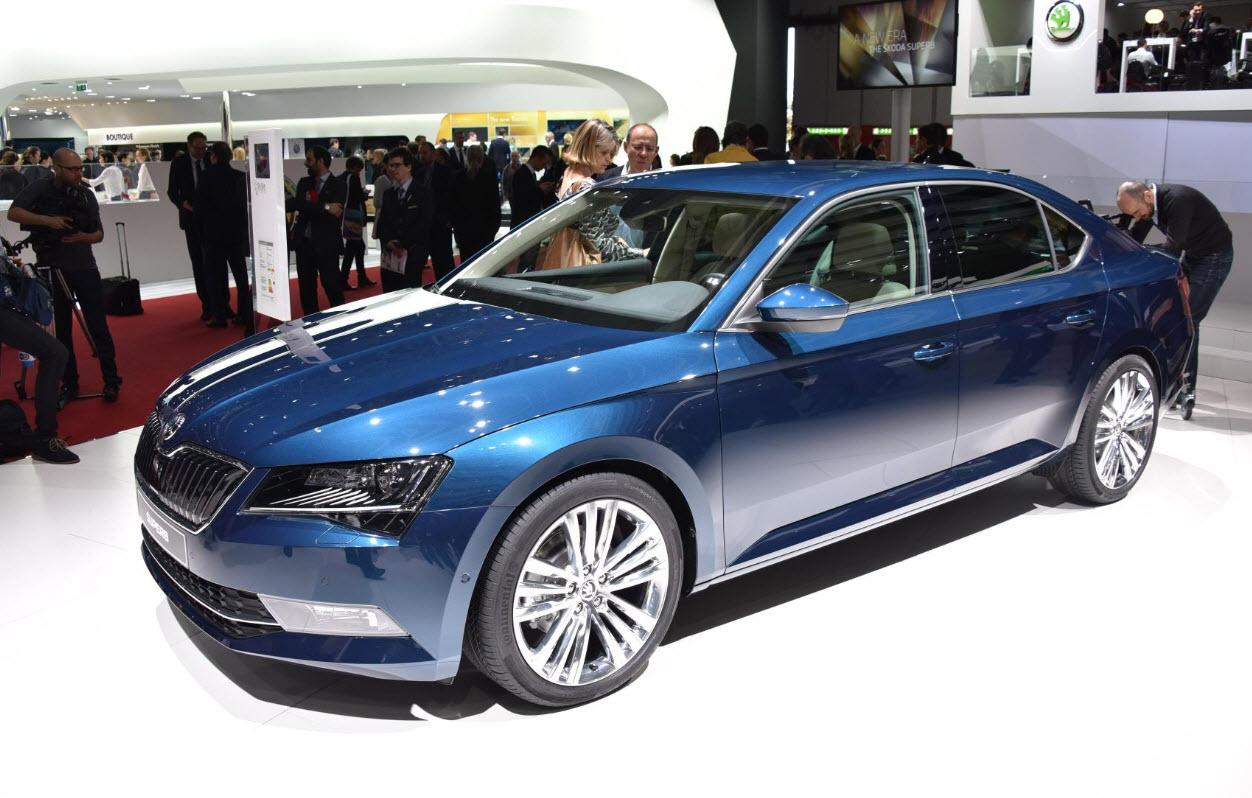 Шкода Суперб 2019 в новом кузове: фото, цена и характеристики рестайлинг версии от Skoda