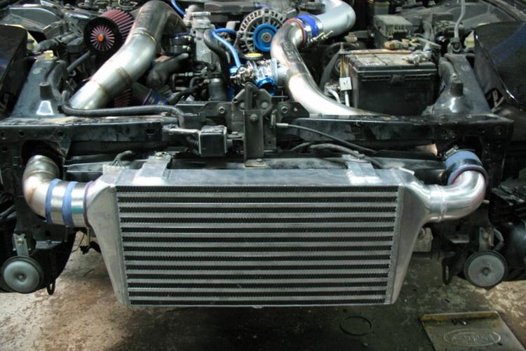 1 4 - Схема турбонаддува дизельного двигателя с интеркулером