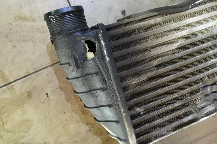3 5 - Схема турбонаддува дизельного двигателя с интеркулером