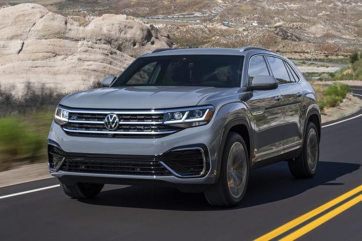 Volkswagen Atlas Cross Sport 2020: фото цена и характеристики нового кроссовера от VW