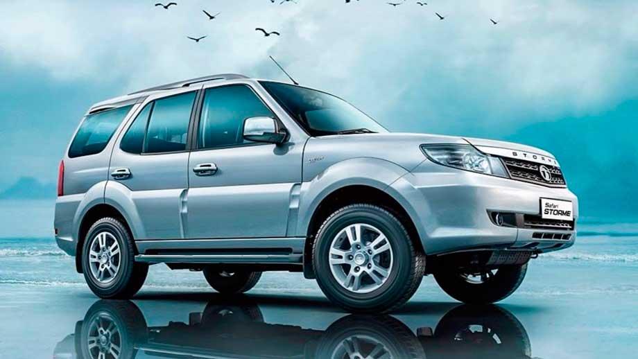 Tata Safari 2021— трехрядный кроссовер на 7 мест из Индии