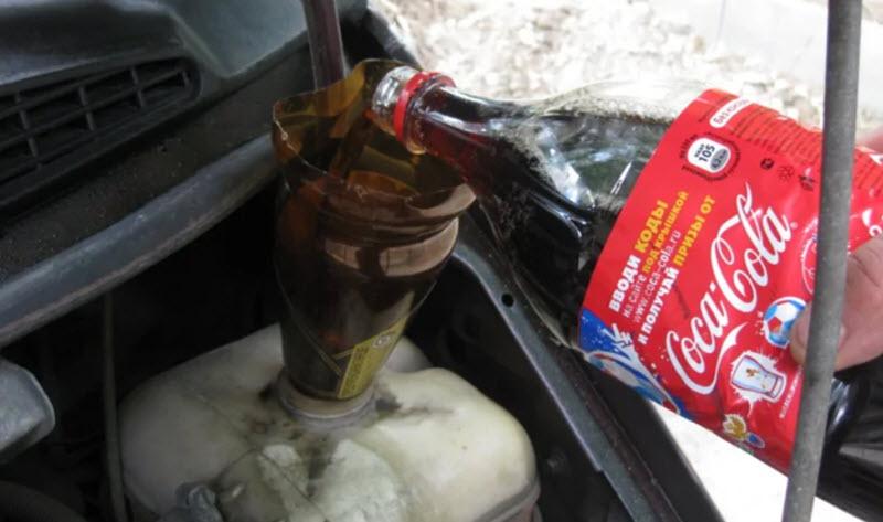 Чем лучше промывать систему охлаждения двигателя от масла, эмульсии и ржавчины