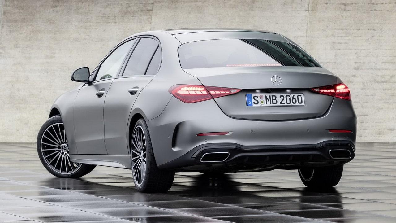 Mercedes-Benz C-Class 2022 W206/S206— новый седан и универсал 5-го поколения для России