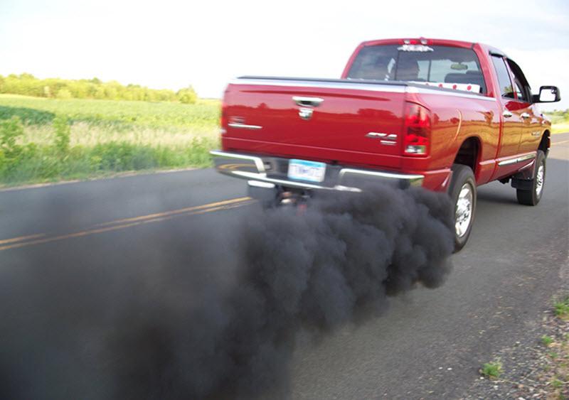 Почему дизель дымит черным дымом при нагрузке