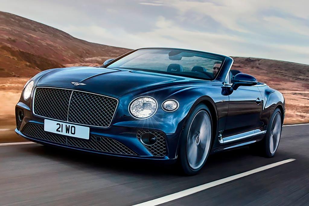 Bentley Continental GT Speed Convertible— топовый кабриолет с мягкой складной крышей