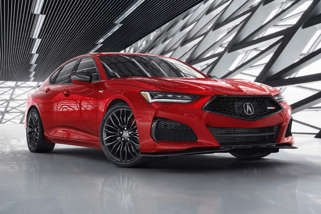 Acura TLX 2021— самый гоночный седан марки