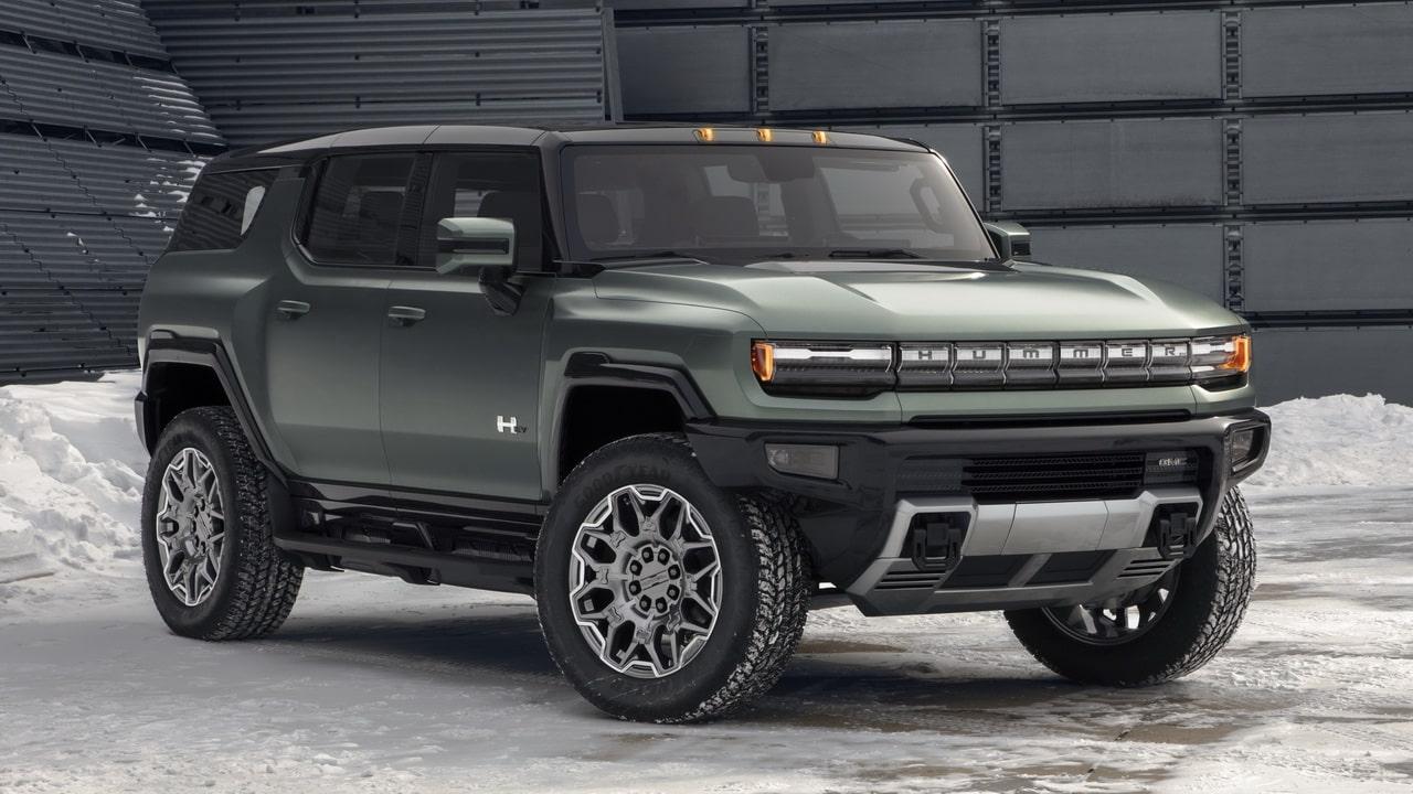 GMC Hummer EV 2023— новая модель Хаммера закрытого типа
