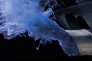 Пример сизого дыма