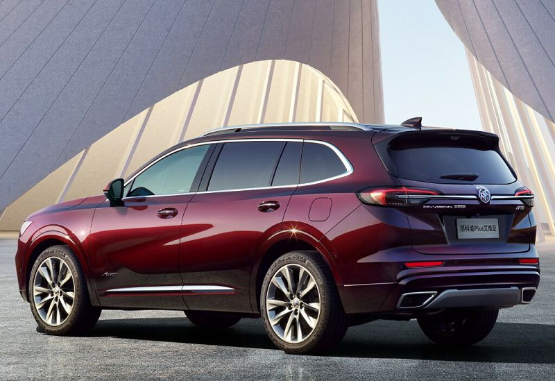 Buick Envision Plus 2021— пятиместный вариант кроссовера