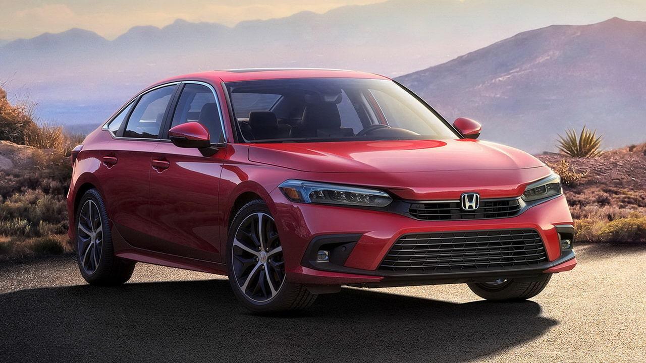 Седан Honda Civic 2022— обновленный дизайн, салон и двигатели