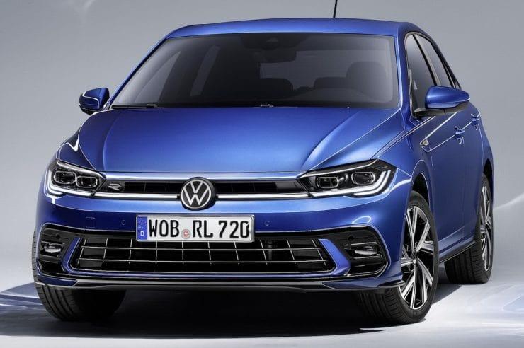 Volkswagen Polo 2022— рестайлинг компактного хэтчбека