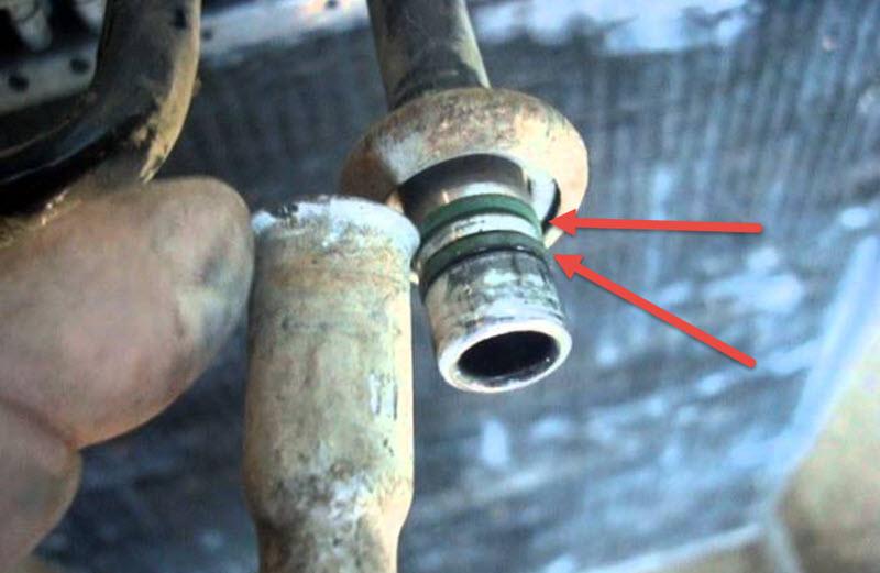 Как отремонтировать трубку кондиционера автомобиля своими руками