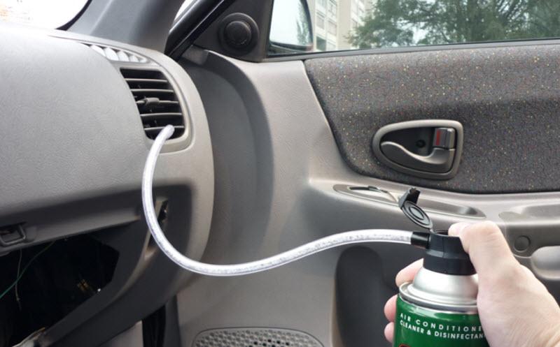 Чистка автокондиционера простым и дешевым способом