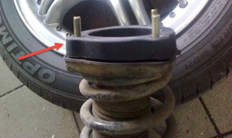 Как увеличить клиренс автомобиля, установка передних и задних проставок
