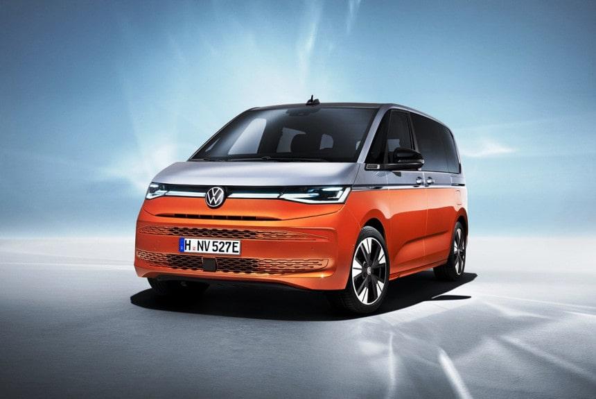 Volkswagen Multivan T7 2022— новый большой микроавтобус от VW
