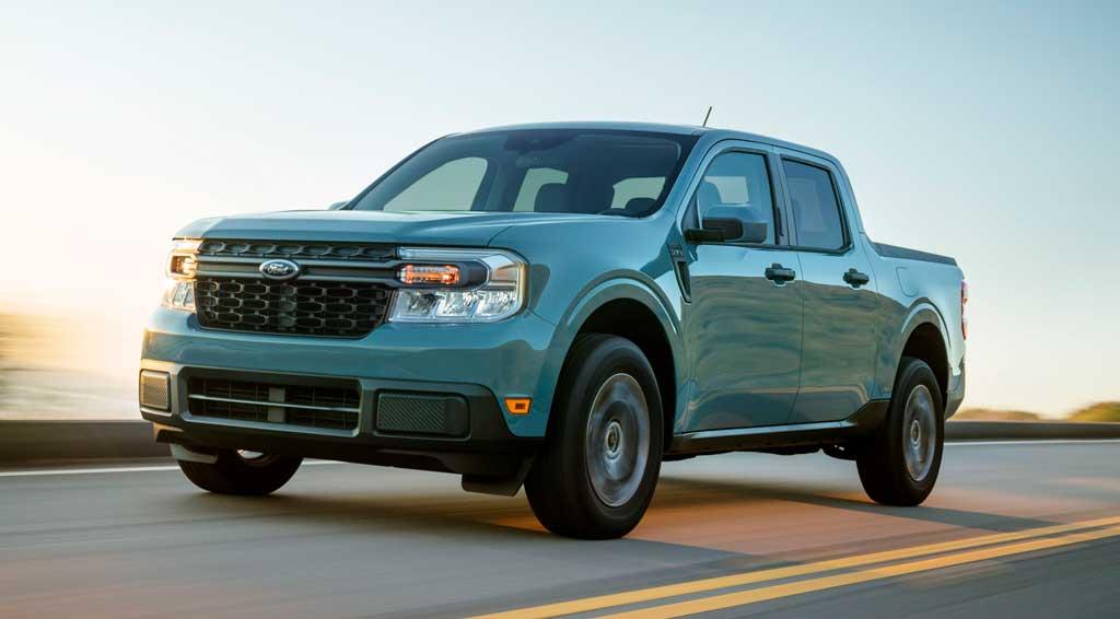 Ford Maverick 2022— самый компактный грузовик с гибридным двигателем