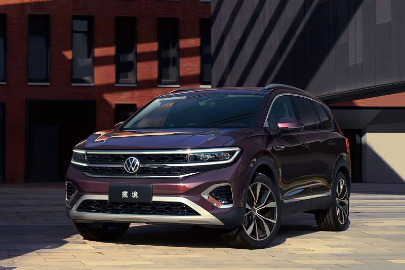 Volkswagen Talagon 2022— новый кроссовер в стиле минимализм