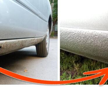 Пороги авто до и после