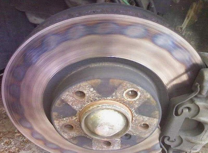 Как сильно должны греться тормозные диски в автомобиле