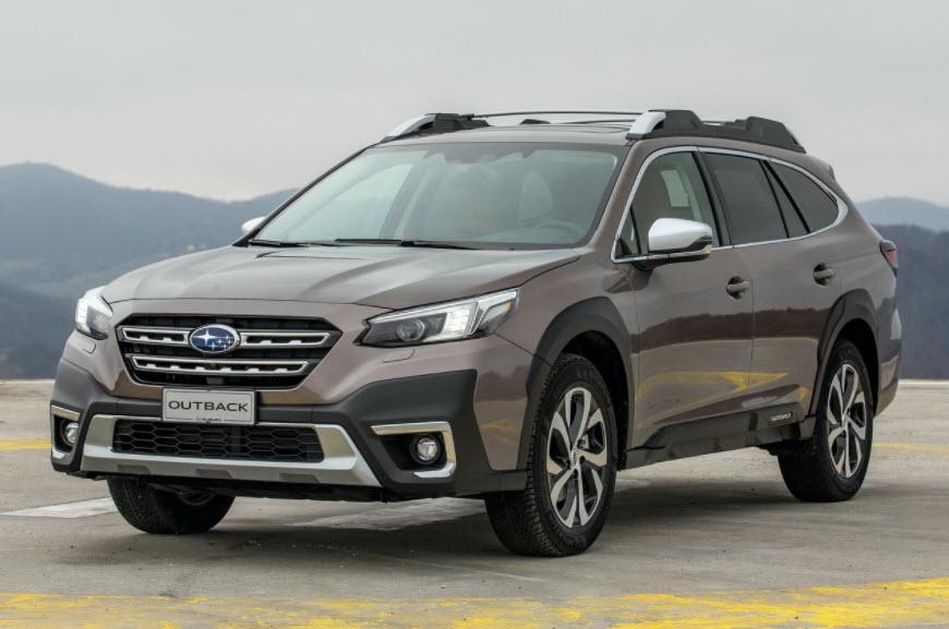 Subaru Outback 2021— новый кросс-универсал с атмосферным двигателем для России
