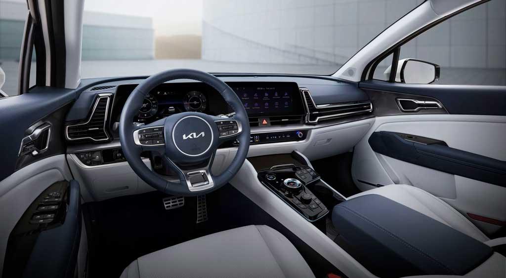 Kia Sportage 2022— длиннобазная модель 5-го поколения