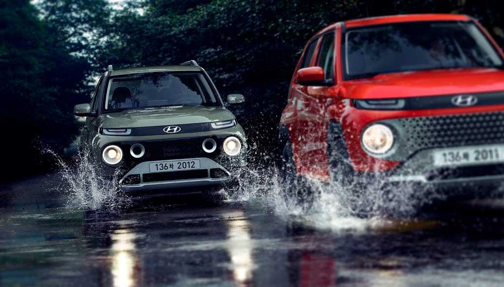 Hyundai Casper 2022— новый ультрабюджетный мини-кроссовер