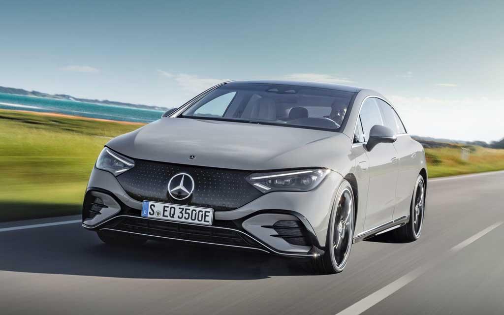 Mercedes-Benz EQE 2022— премьера электрокара в кузове седан и задним приводом