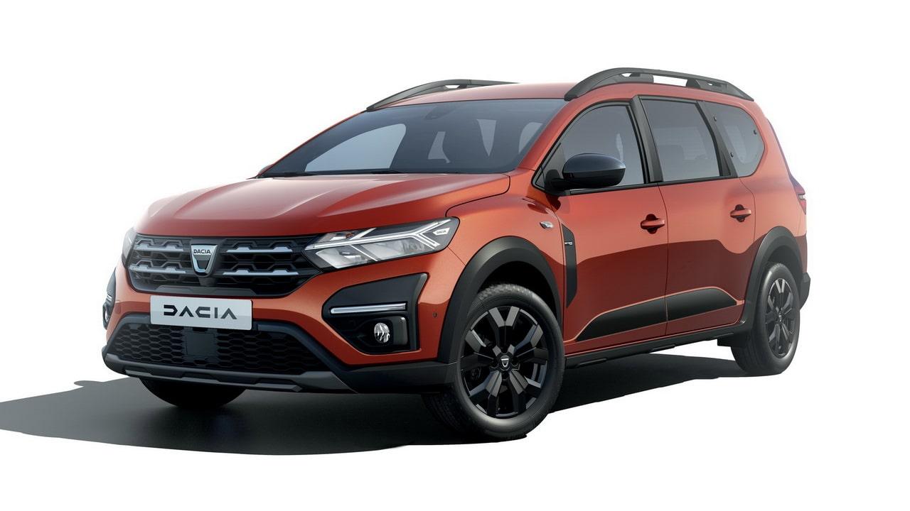 Dacia Jogger 2022— новый кросс-универсал на 7 мест на базе Sandero