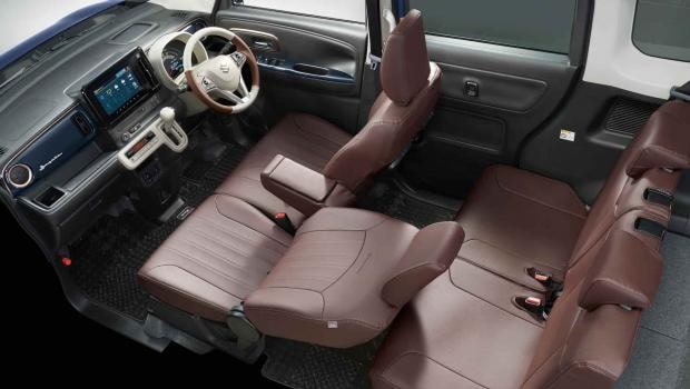 Suzuki Wagon R Smile 2022— новый микроавтобус со сдвижными дверьми и гибридным мотором