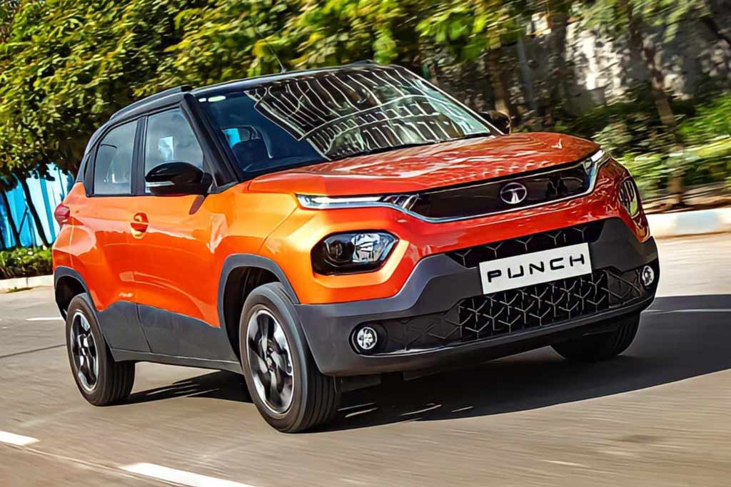 Tata Punch 2022— недорогой кросс-хэтчбек с одним мотором